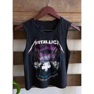Tops - Metallica Crop